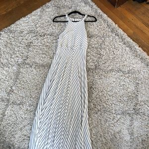 White long summer dress  size medium